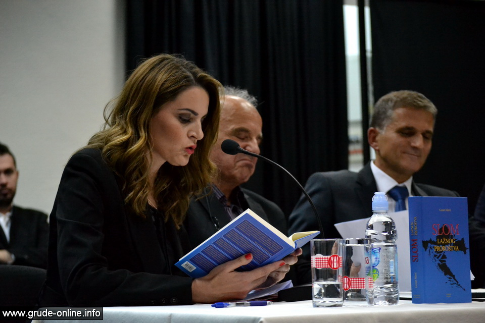 Grude, 1.10.2015. - Predstavljena knjiga Slom lažnog proroštva Gorana Marića